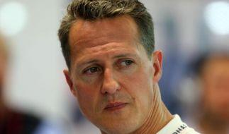 Hinter Michael Schumacher liegt ein tragisches Jahr. (Foto)