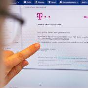 Phishing-Angriffe mit gefälschten Telekom-Rechnungen nehmen zu (Foto)