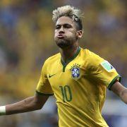 Ganz Brasilien liegt Neymar zu Füßen (Foto)