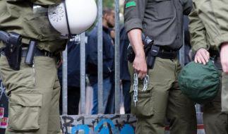 Von Flüchtlingen besetzte Schule in Berlin teilweise geräumt (Foto)