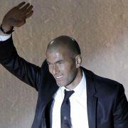 Zidane trainiert zweite Mannschaft von Real Madrid (Foto)