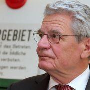Gauck lässt «Kriegshetzer»-Vorwurf ohne juristische Folgen (Foto)