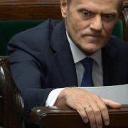 Polnisches Parlament spricht Tusk Vertrauen aus (Foto)