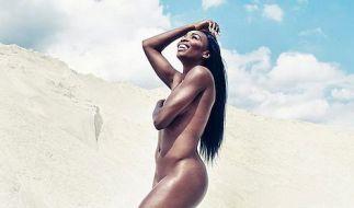 Venus im Eva-Kostüm (Foto)