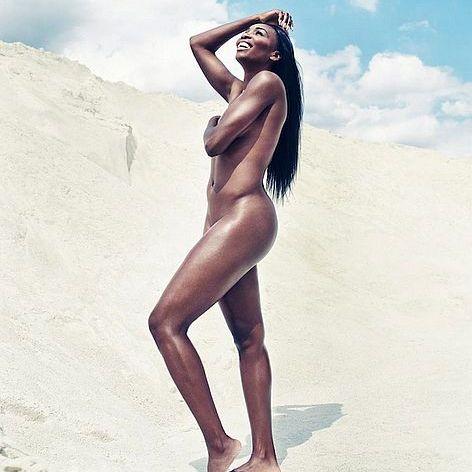 Hier zeigt uns die Tennis-Venus ihre Traumkurven (Foto)