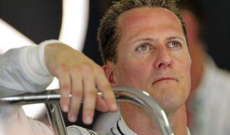 «Entsetzt und angewidert»: Michael Schumachers Krankenakte wurde gestohlen. (Foto)