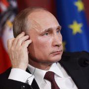 Wladimir Putin bei einer Pressekonferenz am 24. Juni in Wien.