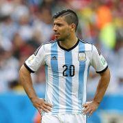 Bericht: WM-Aus für Argentiniens Stürmer Agüero (Foto)