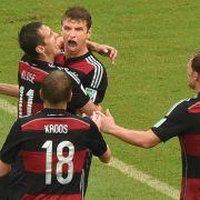 1:0 gegen die USA: Müller schießt Deutschland ins Achtelfinale (Foto)
