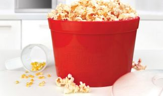 Noch nie war Popcorn selbst herstellen so einfach. (Foto)