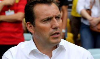 Belgiens Trainer Wilmots: Chancen gegen USA bei 50:50 (Foto)