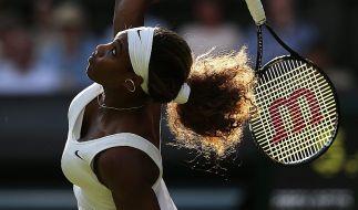 Tiefe Einblicke: Serena Williams. (Foto)