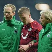 Schock für Hannover 96: Hoffmann erleidet Kreuzbandriss (Foto)