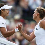 Überraschung in Wimbledon:Chinesin Li Na ausgeschieden (Foto)
