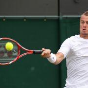 Dauerspieler Hewitt mit Fünf-Satz-Rekord (Foto)