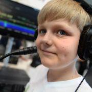 «CQ, CQ»:Ein Zwölfjähriger funkt einmal um die Welt (Foto)
