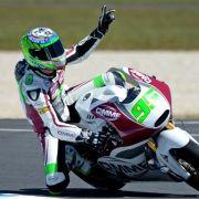 Regenpoker in Assen:West gewinnt Moto2-Rennen (Foto)