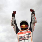 Marc Marquez gewinnt achtes MotoGP-Rennen inSerie (Foto)