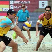 Beach-Duo Erdmann/Matysik verpasst Spitzenplatz (Foto)