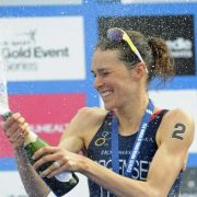 Triathletin Jorgensen gewinnt in Chicago (Foto)