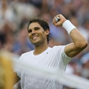 Nadal in Wimbledon wieder imAchtelfinale (Foto)