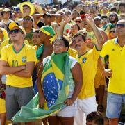 Fußball-Krimi Brasilien - Chile mit Spitzenquote (Foto)