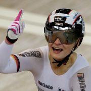 Bahnrad-Weltmeisterin Vogel mit Doppelerfolg in Cottbus (Foto)