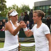 Wimbledon:Kerber, Lisicki halten «deutsche Fahne hoch» (Foto)