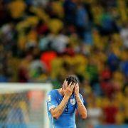 Uruguay wütet nach WM-Aus (Foto)