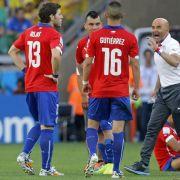 Weinender «Pitbull» Medel - Chile schwört Rache (Foto)