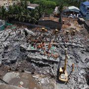 Mindestens 20 Tote bei Einsturz von Gebäuden in Indien (Foto)