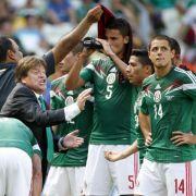«Große WMgespielt»: Mexiko überrascht positiv (Foto)