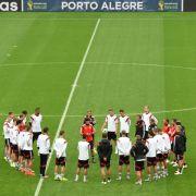 DFB-Team «brennt» vor Achtelfinale gegen Algerien (Foto)