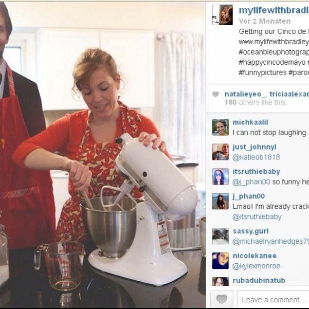 Hausfrau lebt mit Bradley Cooper aus Pappe (Foto)