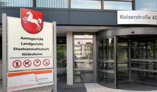 Das Gebäude des Amts- und Landgerichtes sowie der Staatsanwaltschaft Hildesheim. (Foto)