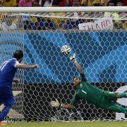 Trotz WM-K.o.: Griechen werden wie Helden gefeiert (Foto)