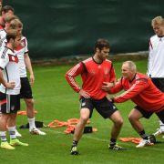 Das Beste für die Besten:Die Betreuer im DFB-Team (Foto)