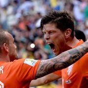 Oranje winkt Halbfinale - Heldenrolle für Huntelaar (Foto)