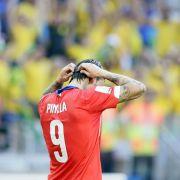 Pinilla fordert Strafe für Brasiliens Team-Pressechef (Foto)