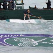 Regen in Wimbledon:Kerber gegenScharapowa verschoben (Foto)