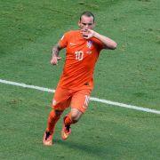 Sneijders neue Rolle: Laufen statt zaubern (Foto)
