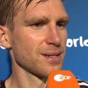 «Sollen wir wieder ausscheiden und schön spielen?» Per Mertesacker ätzt am ZDF-Mikro.