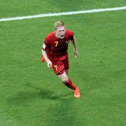 Belgien mit 2:1 über USA im Viertelfinale (Foto)