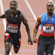 Gay gegen Gatlin: Sprint in Lausanne ein Highlight? (Foto)