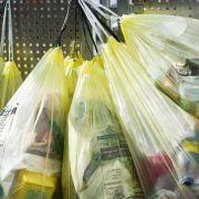 Joghurtbecher für Gelben Sack nicht ineinanderstecken (Foto)