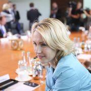 Schwesig: Zu wenig Frauen in Top-Jobs in Staatsunternehmen (Foto)