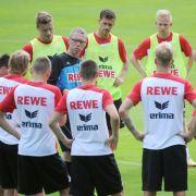 Stöger verlängert zum Kölner Trainingsauftakt bis 2017 (Foto)