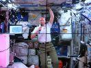 Astronaut Gerst hat Heimweh - Plauderei mit Schülern (Foto)