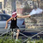 Schwere Krawalle in Jerusalem (Foto)