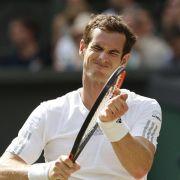Aus von Titelverteidiger Murray - Federer weiter (Foto)